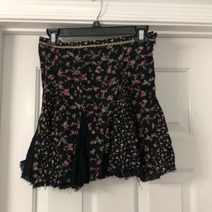 Free people boho skirt